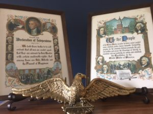 Patriotic plaques
